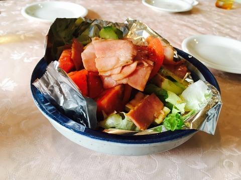 神戸屋ステーキハウス_サラダ